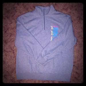 Woman's Sweatshirt 2015-16 Rainbow for Girls Grey